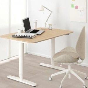 IKEA BEKANT - Höhenverstellbarer Schreibtisch