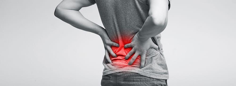 Rückenschmerzen unterer Rücken unten