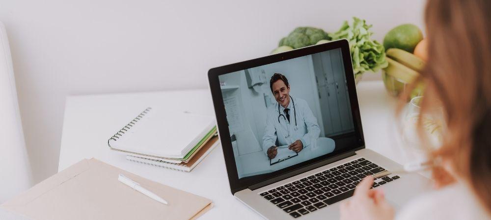 Videosprechstunde Online-Sprechstunde Arzt